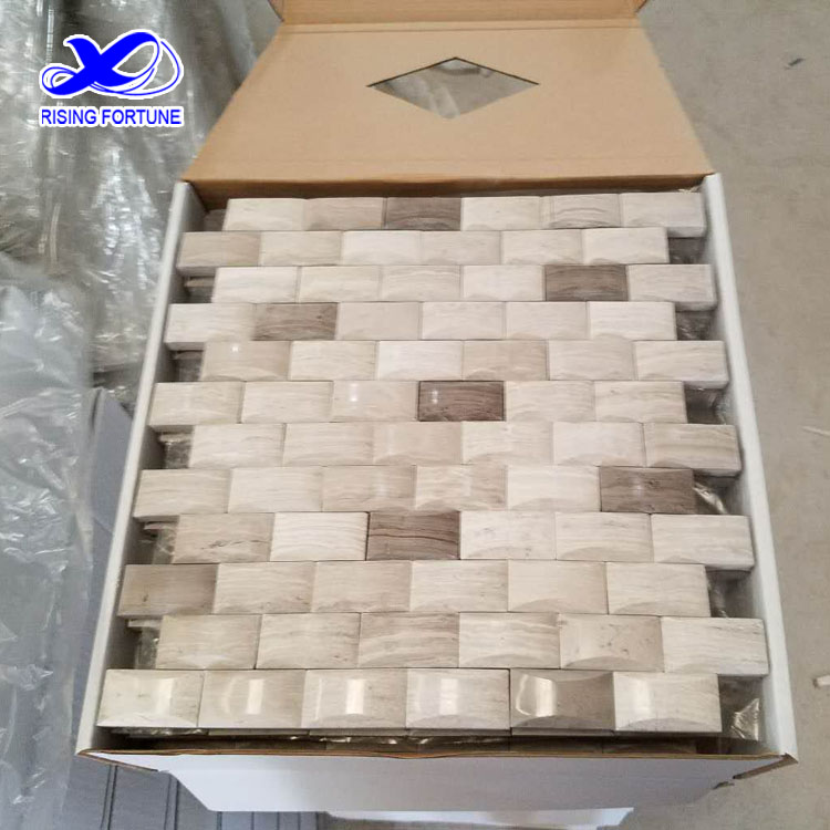buy white marble water jet mosaics