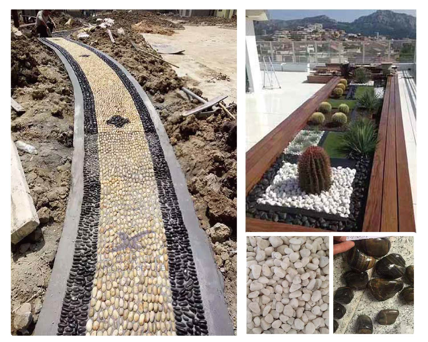 landscaping pebbles
