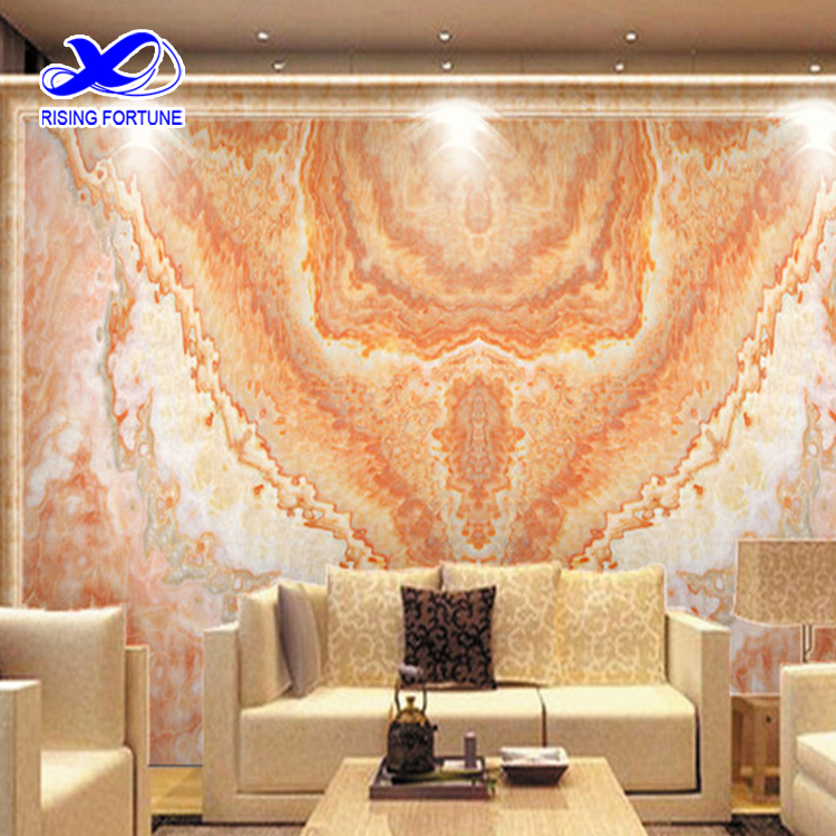 red dragon marble wall