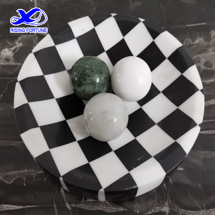 marble fruit plate