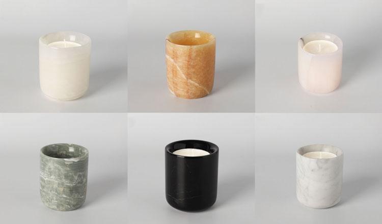 onyx candle jar