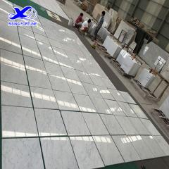 Bianco carrara white marble tiles
