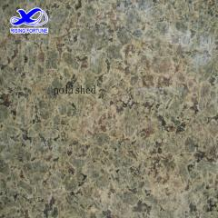 flower green granite slabs