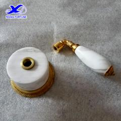 Stone parts for bathroom brass faucet
