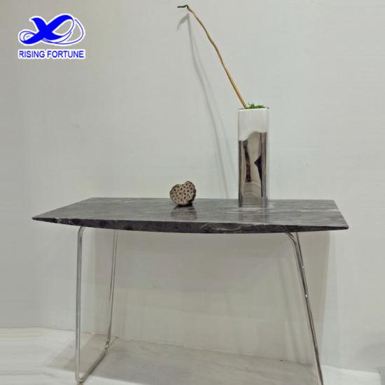 Popular modern marble top console table