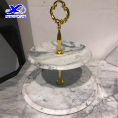 marble cake stand
