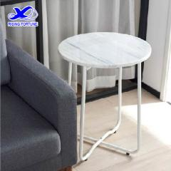 white cloud marble table