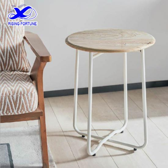 Yunnan landscape sandstone round side table